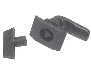 HSR-217SB-plastik-dortgen-yayli-pano-kilidi-ucgen-siyah